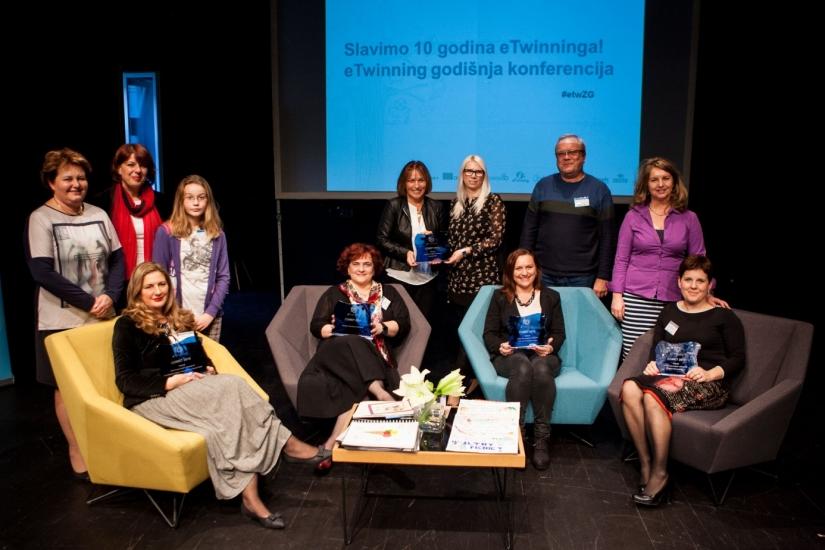 Sudionici eTwinning godišnje konferencije 2017.