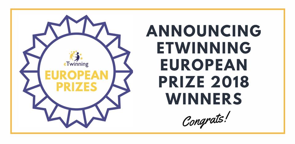 vizual eTwinning nagrada za 2018.