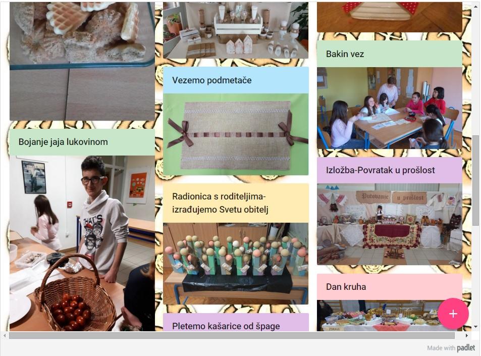 Provedba različitih projektnih aktivnosti