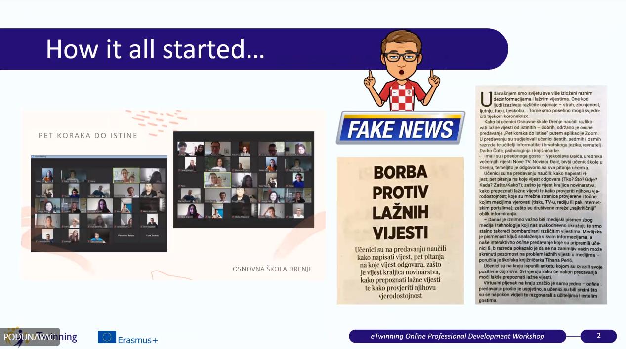 """Više od 150 eTwinnera na međunarodnom seminaru """"Kritička medijska pismenost s eTwinningom"""" - Slika 6"""