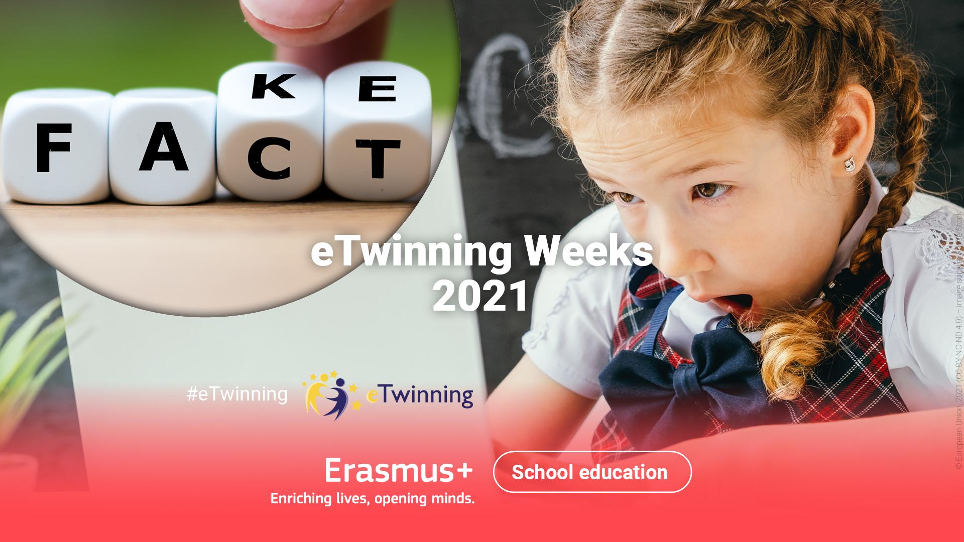 Tjedni eTwinninga od 1. rujna do 28. listopada 2021. u znaku medijske pismenosti - Slika